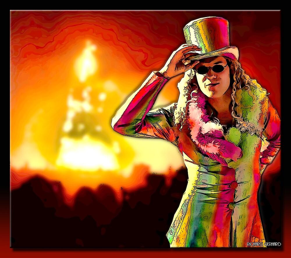 Burning Man by Richard  Gerhard