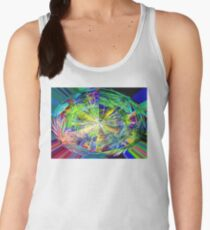 Kaleidoscope, below the rainforest. 2 Women's Tank Top