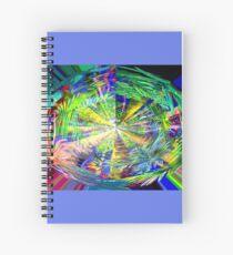 Kaleidoscope, below the rainforest. 2 Spiral Notebook
