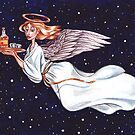 Booze Angel by amandakaybaker
