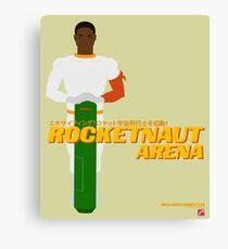 Space Hero One RocketNaut Arena Promo Canvas Print