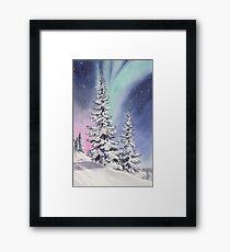 Northern Lights Framed Print