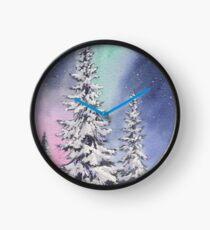 Northern Lights Clock