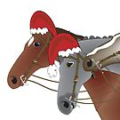 One was a racehorse Christmas by Diana-Lee Saville