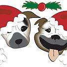 Staffy Christmas by Diana-Lee Saville