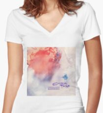 cocteau twins head over heels Women's Fitted V-Neck T-Shirt