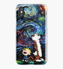 stary night tiger iPhone Case/Skin