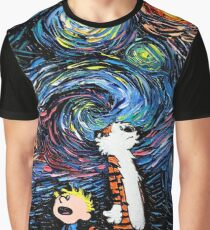 stary night tiger Graphic T-Shirt