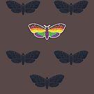PFLAG Capital Region - Butterflies by IvanHintonTeoh