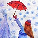 Catching Snowflakes by AngieDavies