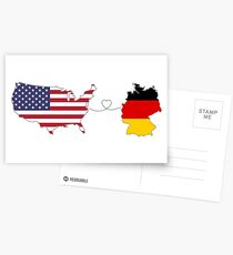 USA - Germany | Long Distance Love Postcards