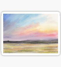 Pastel Landscape Sticker