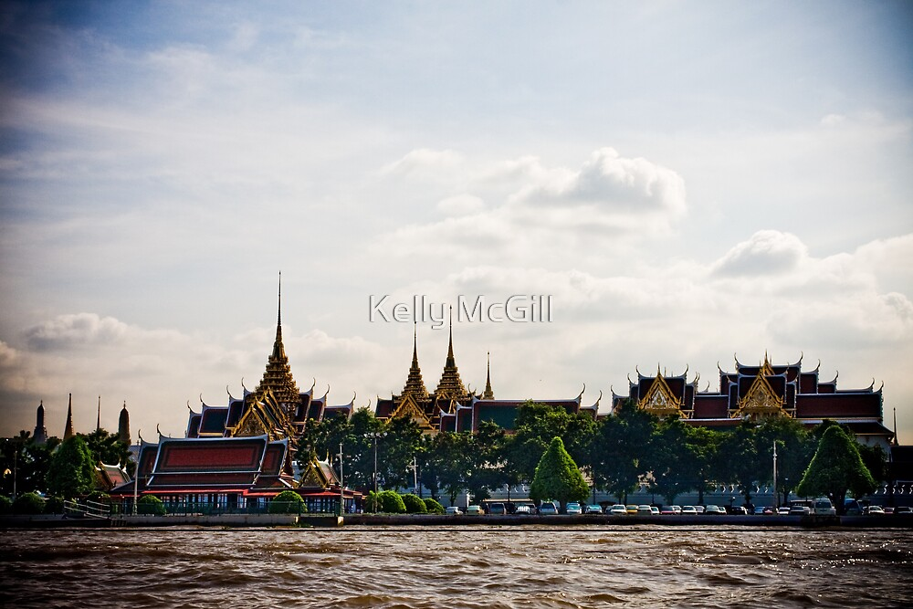 Grand Palace, Bangkok by Kelly McGill