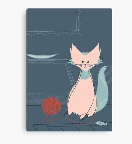 Kitty Cat Canvas Print