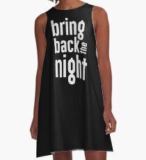 buffy - bring back the night A-Line Dress