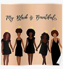 Póster Mi negro es hermoso