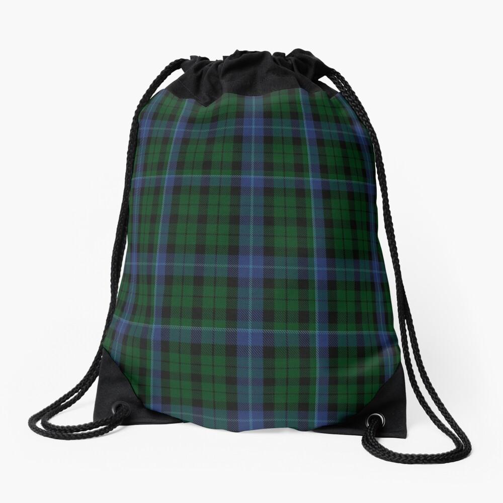 00092 MacIntyre Clan/Family Tartan  Drawstring Bag