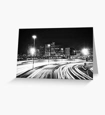 Denver After Dark #7 Greeting Card