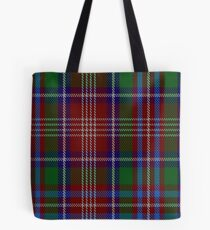 00083 Ritchie Clan Tartan  Tote Bag