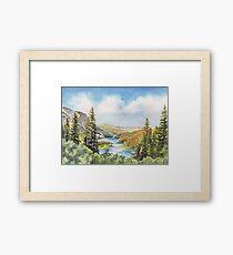 Californian Landscape Framed Print