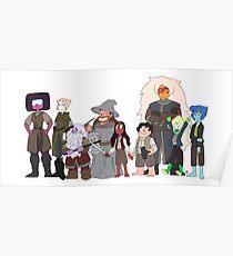the fellowship of the stevens Poster