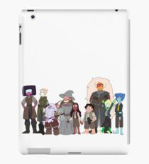 the fellowship of the stevens iPad Case/Skin