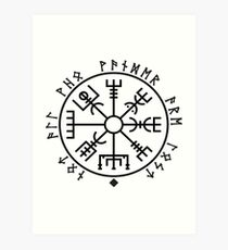 Nordic Runes Art Print