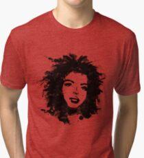 Lauryn Hill (monochrome) T-shirt chiné