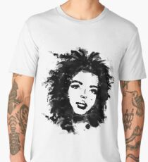 Lauryn Hill (monochrome) Men's Premium T-Shirt