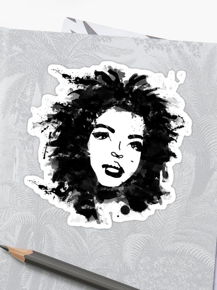 Lauren Hill Vinyl Sticker Miseducation Style High Quality HIP HOP Fugees