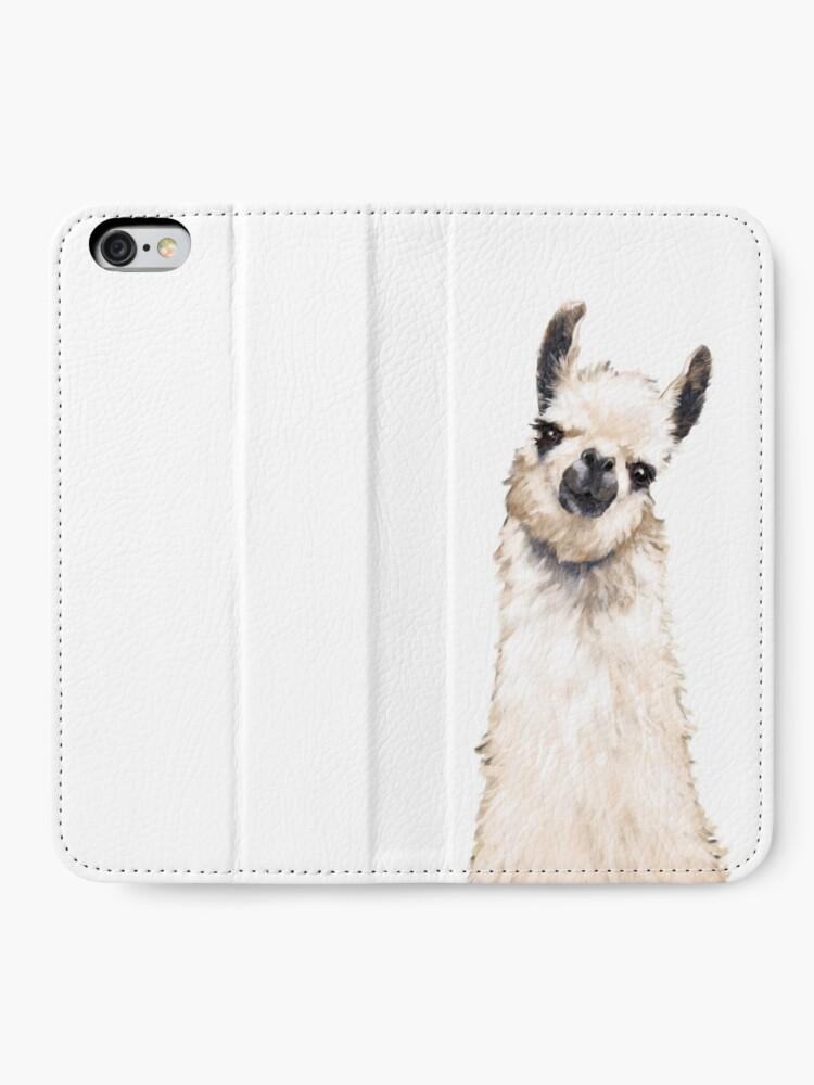 Alternate view of Llama iPhone Wallet