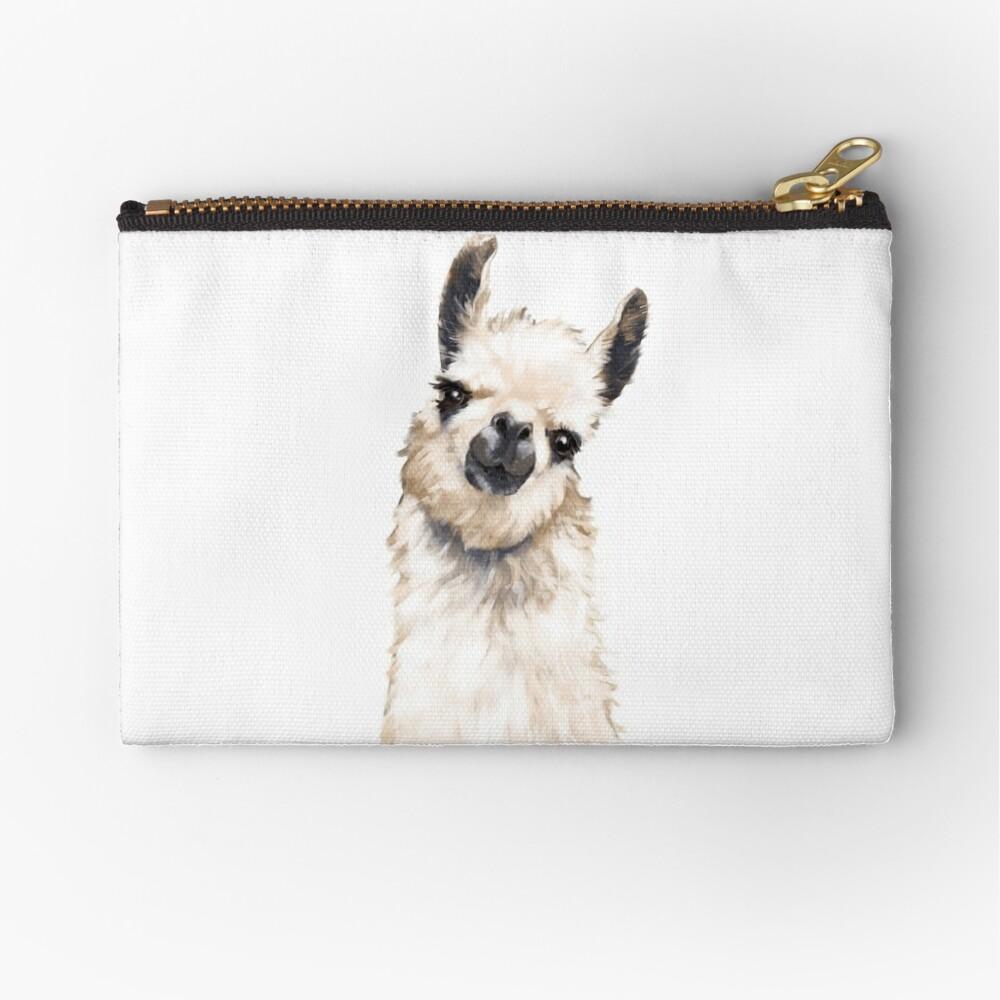 Llama Zipper Pouch