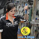Live 4 Bikes Mechanic Fixie girl Road bike Felt TT  by Live4Bikes