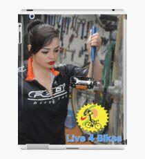 Live 4 Bikes Mechanic Fixie girl Road bike Felt TT  iPad Case/Skin