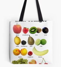 Fruits Other Than Oranges Wall-chart Tote Bag