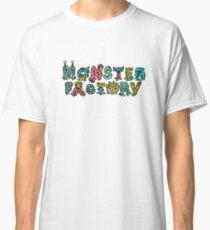 Monster Factory Logo Classic T-Shirt