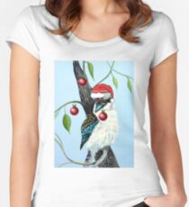 Kooky Christmas Women's Fitted Scoop T-Shirt