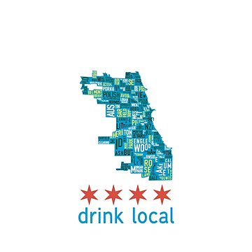 Chicago Drink Local Craft Beer T-Shirt by 815seo