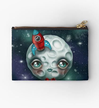 Moon Boy Zipper Pouch