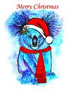 Christmas Koala by Linda Callaghan