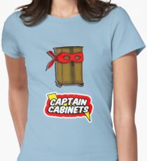 Captain Cabinets Women's Fitted T-Shirt