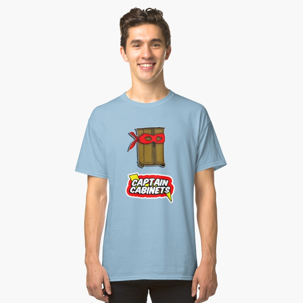 Captain Cabinets Classic T-Shirt