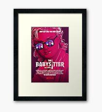 STRANGER THINGS / STEVE & DUSTIN/ THE BABY SITTER  Framed Print