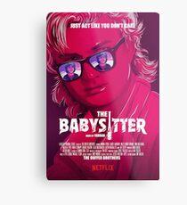 STRANGER THINGS / STEVE & DUSTIN/ THE BABY SITTER  Metal Print
