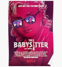 STRANGER THINGS / STEVE & DUSTIN/ THE BABY SITTER  Poster