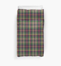 00156 Oregon State Tartan  Duvet Cover