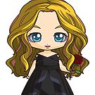 The 100 Clarke Griffin Chibi Art-Coalition Clarke by Evelyn Ulrich