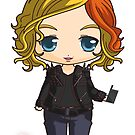 The 100 Clarke Griffin Chibi Art-Time Jump Clarke by Evelyn Ulrich
