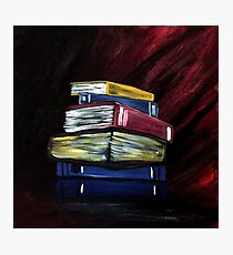 Books Of Knowledge Photographic Print