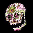Day of the Dead Skull by Jason Castillo